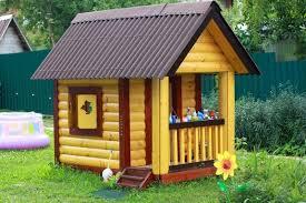 Красивые детские домики